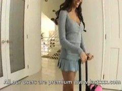 Lela Star im sexy Krankenschwester Outfit